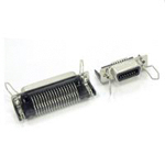 57RE Series - Ribbon-Type, Lightweight, Right-Angle Receptacle Connectors