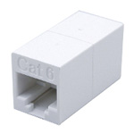 Modular jack LAN relay connector 8-pin CAT6