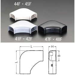 Corner [for Cable Cover Duct] EA947HM-41F