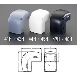 Joint [Inner Bend] [for Cable Cover Duct] EA947HM-47H