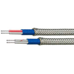 Compensating Cable, Thermocouple K Type, WX-H-GGBF-OBS Series