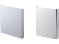 Uncoated Panel 2-Direction Shallow Bending Highly Corrosion-Resistant Hot-Dip Steel Plating / Stainless Steel