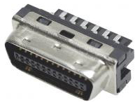 IEEE1284, Half-Pitch Connector, EMI-Countermeasure Solder Male Connector