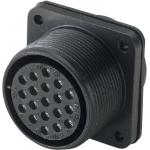 MS3102-Series, Waterproof, Panel-Mount Receptacle