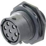 Environment-resistant Connector (UTS Series: Waterproof / Climate Resistant) Panel Mount Receptacle