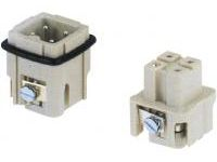 Han Waterproof A-Model Connector (Screw Connection)