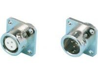 PRC05 Flange Panel Mount Receptacle (One-touch Lock)