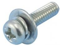 Small Pan Screw Set / Stainless Steel