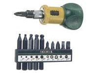 Stubby Ratchet Screwdriver Set