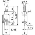 Toggle Switch, MS-621 Series