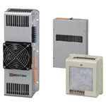 Compact Heat Exchanger Box Fan Series for Panels (Side-Mounting)