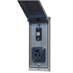 PC Connector Box (dustproof / waterproof type) IP55