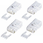 CAT6 RJ-45 connector (for single wire) (with 10 to 100)