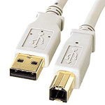 USB 2.0 Cable, Type A Connector <=> Type B Connector