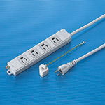 Retaining Power Strip, 4 Sockets