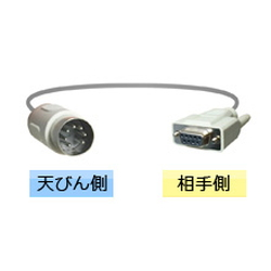 RS-232C Cable (Connector Shape: DIN)