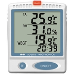 Wall-hanging/desktop heatstroke index monitor
