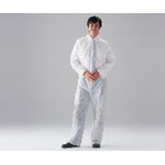 Disposable coverall made of non-woven fabric