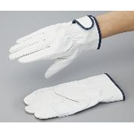 Pig Skin Gloves, White