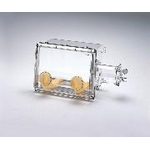 Gas Replacement Type Acrylic Glove Box 1107x600x580