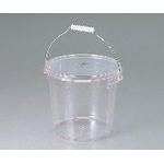 Bucket with Polycarbonate Lid