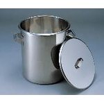 Large Stainless Steel Beaker
