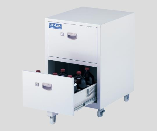 Chemical storage unit, UT-Lab., with caster, steel (melamine baked coated)