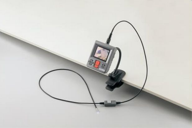 Double camera industrial endoscope