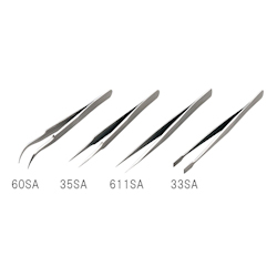 Stainless Steel Tweezers Length 120mm Tip Size 6 x 11mm