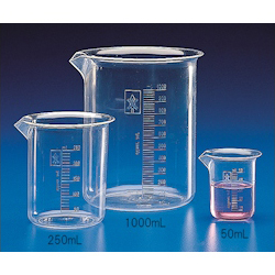 PMP Beaker with Scale 500mL