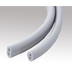 ARAM(R) Silicone Tube 6 x 8 x 24 Glasses Type (2 Holes) (Width 41)
