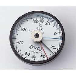 Bimetal Surface Thermometer TMS50N-120 with Low Temperature, High Temperature Each Display Needle