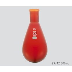 Common Sliding Eggplant Flask (Brown) 15/25 10mL
