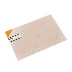PVC Plate 2x300x450 mm Orange Transparent