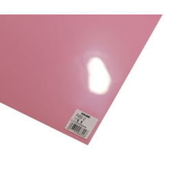PP Sheet Pink 460x650x0.2 mm