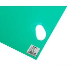 PP Sheet Green 460x650x0.2 mm