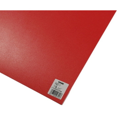 PP Sheet Red 485x570x0.75 mm