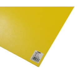 PP Sheet Yellow 970x570x0.75 mm