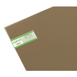Polycarbonate Panel 450 x 600 x 2 mm, Brown Smoke