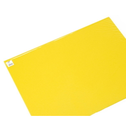 Color Foam 600 x 450 mm Yellow