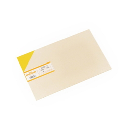PVC Plate 1x200x300 mm Yellow