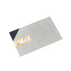 PVC Plate 1x200x300 mm Blue Transparent