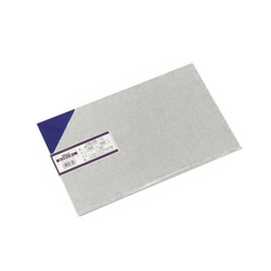 PVC Plate 0.5x200x300 mm Blue Transparent