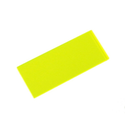 Acrylic Square 50 × 20 × 2 mm Fluorescent G