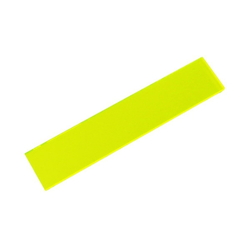 Acrylic Square 100 × 20 × 2 mm Fluorescent G