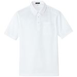 AZ-10599 Sweat-Absorbing, Quick Drying (Cool Comfort) Short-Sleeved Button Down Polo Shirt (Unisex)