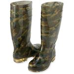 Camouflage Long Boots