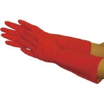 Natural Rubber Gloves Beauty Medium Thickness (with fleece lining)
