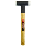 Shockless plastic hammer