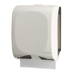 Crecia Hand Towel Dispenser, Slim, 400, for Small Size